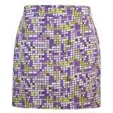Skort 4 Pockets Coloured Dots Lilac