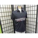 Jaxon, Golf Shirt Black/White/Chilli Medium
